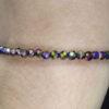 Bracelet fin en hématite Titanium 4mm